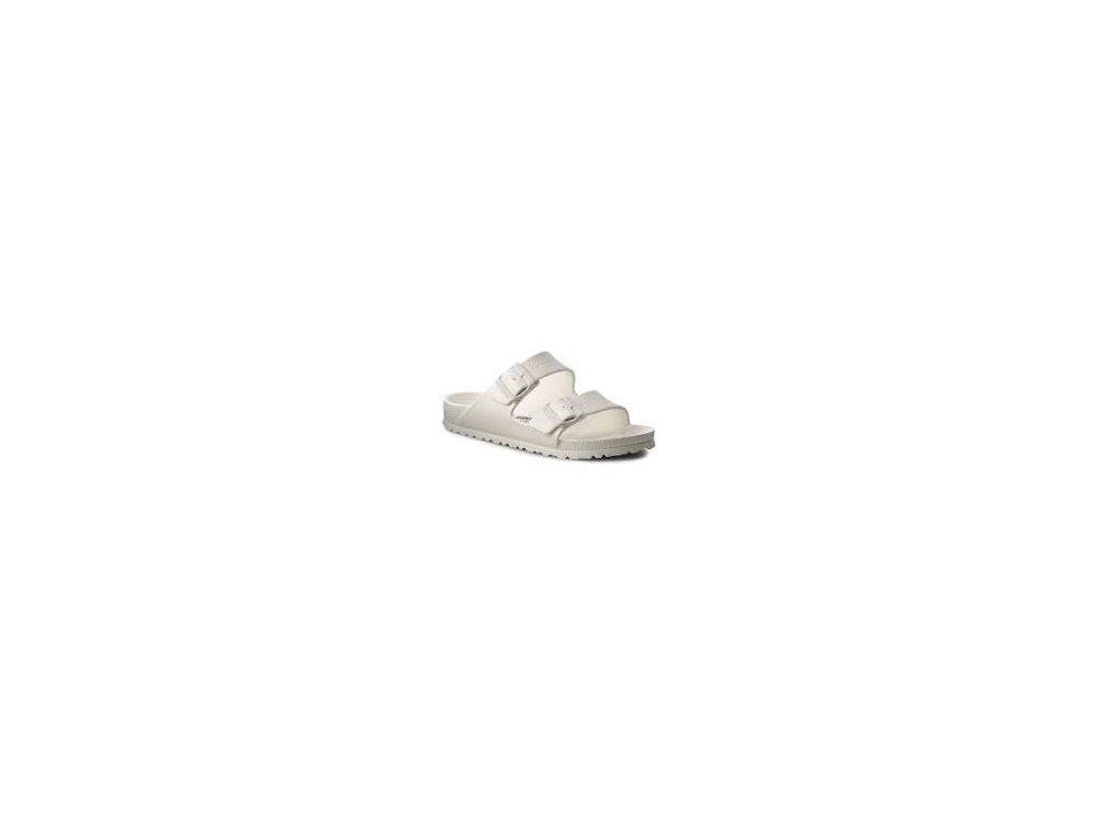 Σαγιονάρες Birkenstock Arizona White Narrow Fit