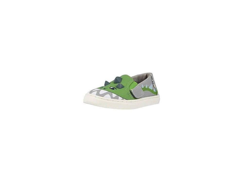 Παιδικές Εσπαντρίγες Toms Luca Grey Dino 3D kids