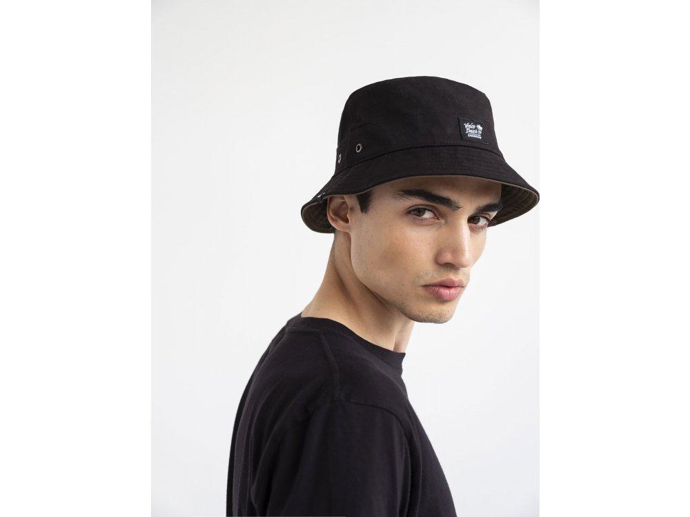 Emerson Unisex Bucket Hat Black-Olive
