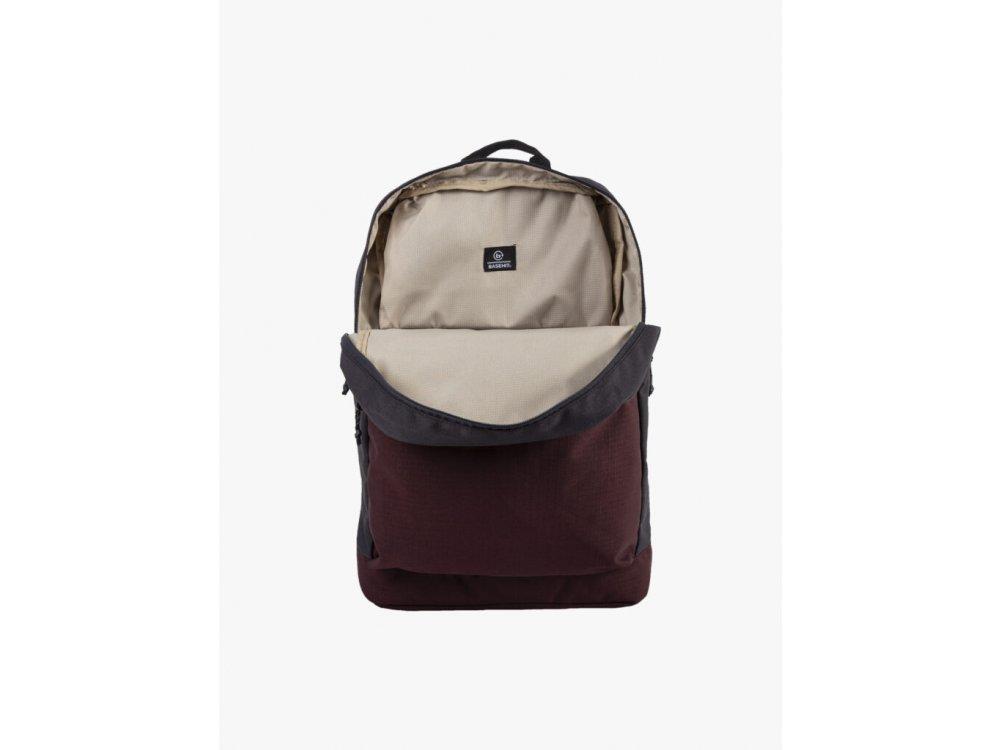 Basehit Backpack Off Black-Wine