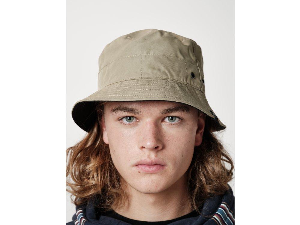 Emerson Unisex Bucket Hat Black-Beige