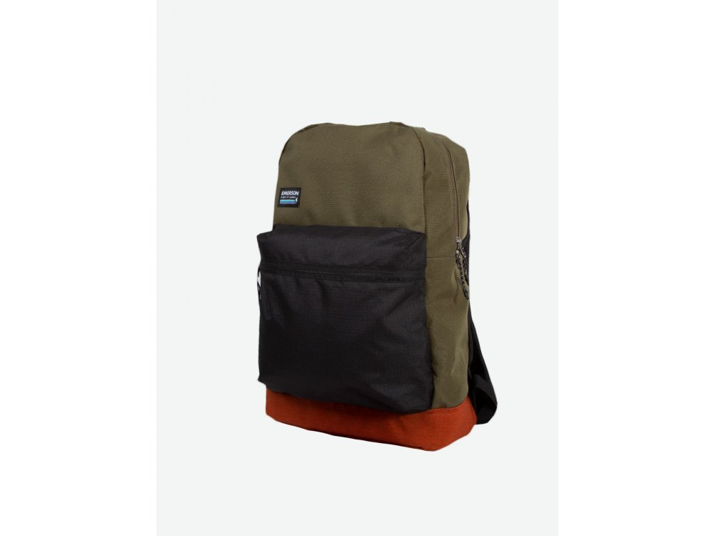 Emerson Backpack Olive-Black-Orange ML