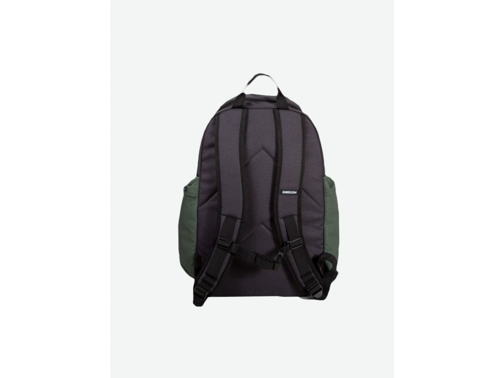 Emerson Backpack Off Black-Olive-Stone Grey