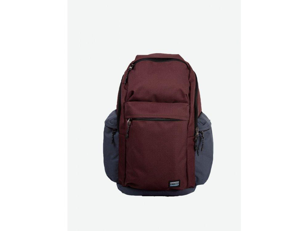 Emerson Backpack Wine-Stone Grey