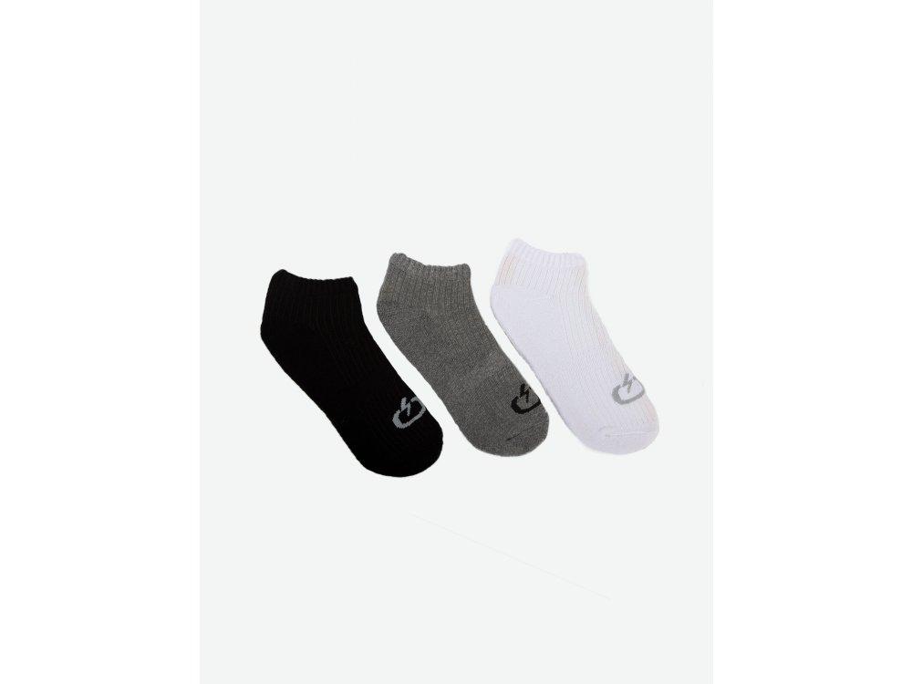 Emerson Unisex Socks Multi Colour (3-Pair Package)