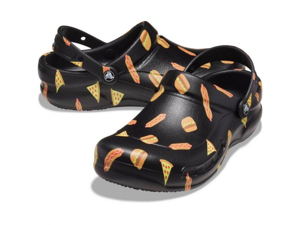 Σανδάλια Crocs Bistro Graphic Clog Multi Black/Black