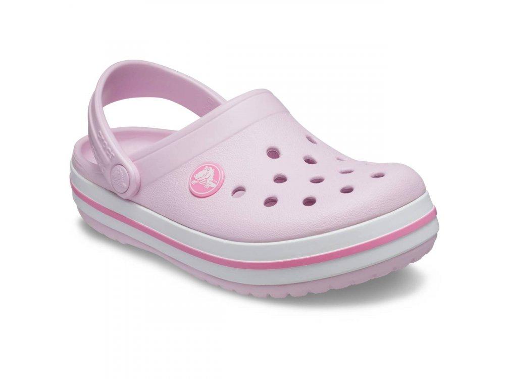 Σανδάλια Crocs Crocband Clog K Ballerina Pink