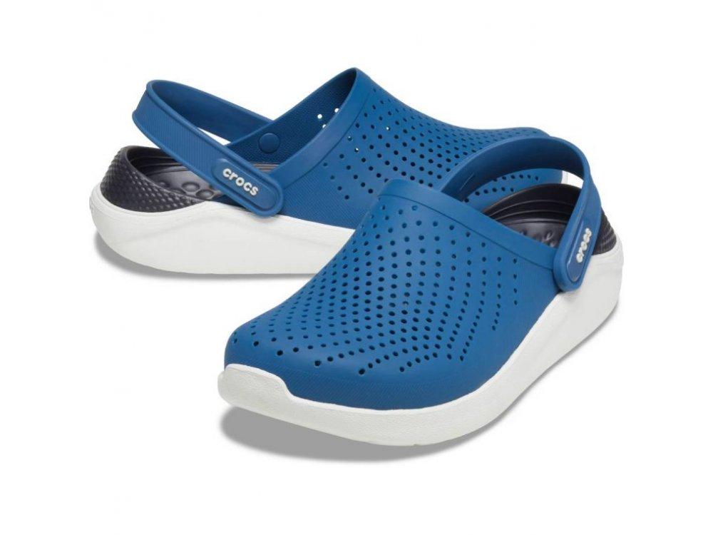 Σανδάλια Crocs Lite Ride Clog Vivid blue/almost white