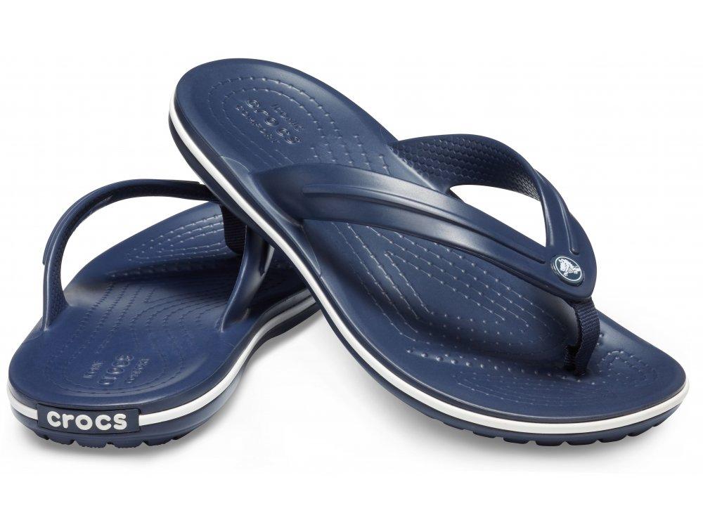 Σαγιονάρες Crocs Crocband Flip Gs Navy