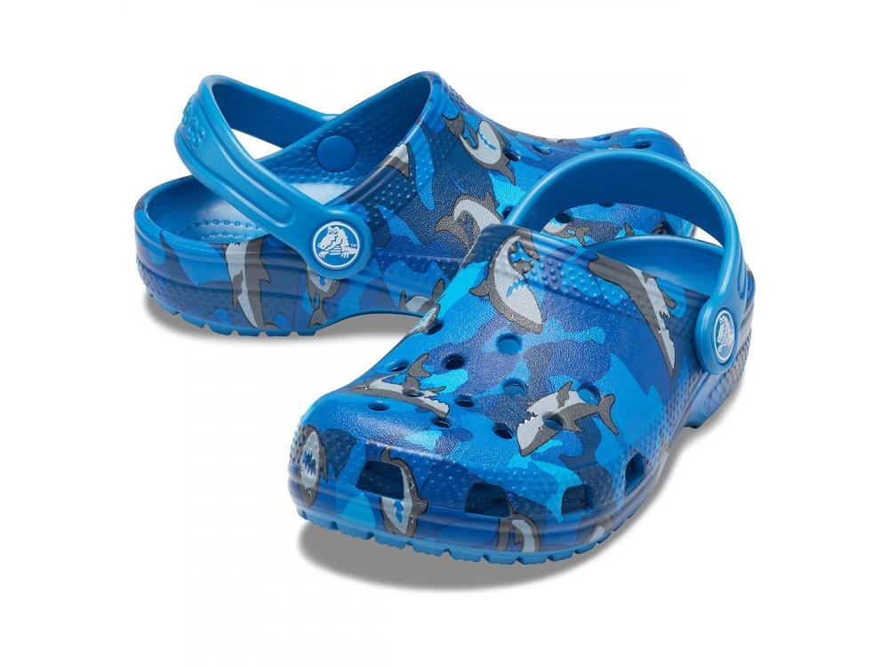 Σανδάλια Crocs Classic Shark Clog PS