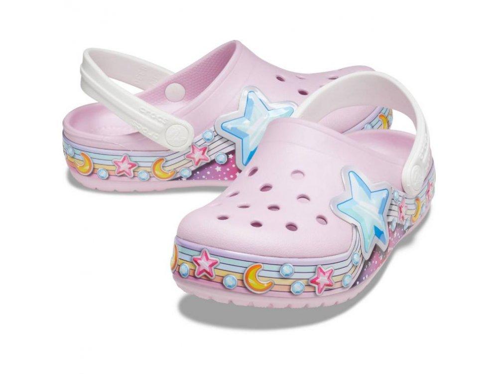 Σανδάλια Crocs FunLab Unicorn Band Cg K Lavender