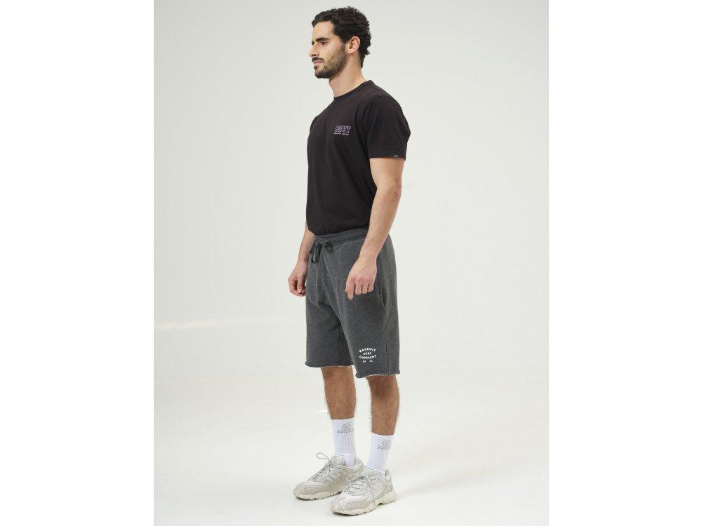 Basehit Men's Sweat Shorts D. Grey ML