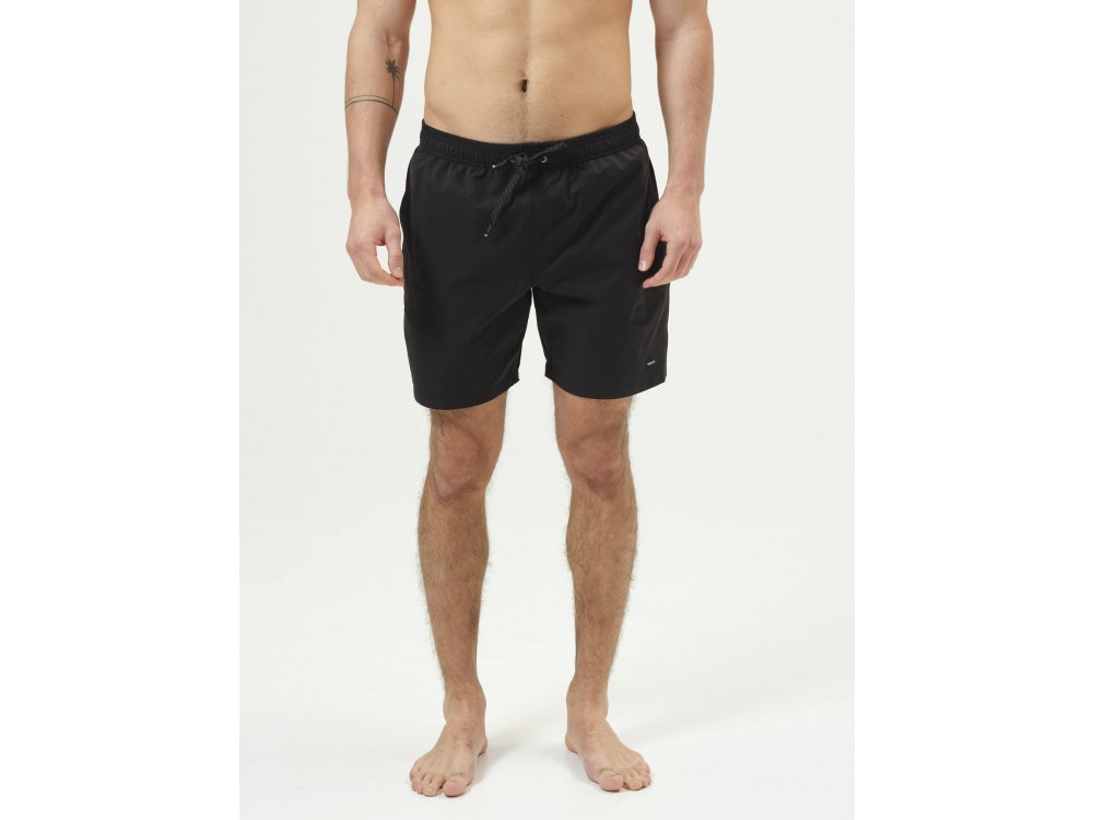 Basehit Men's Volley Packable Shorts Black