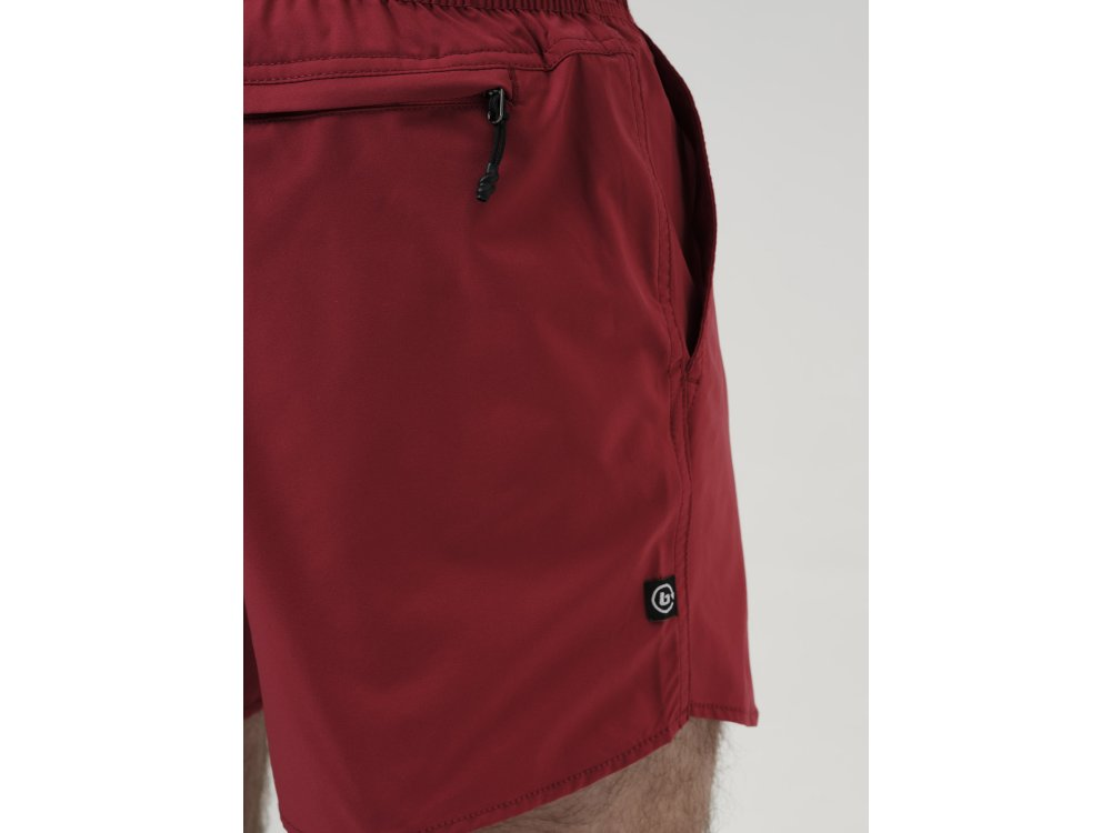 Basehit Men's Volley Shorts Raspberry Red
