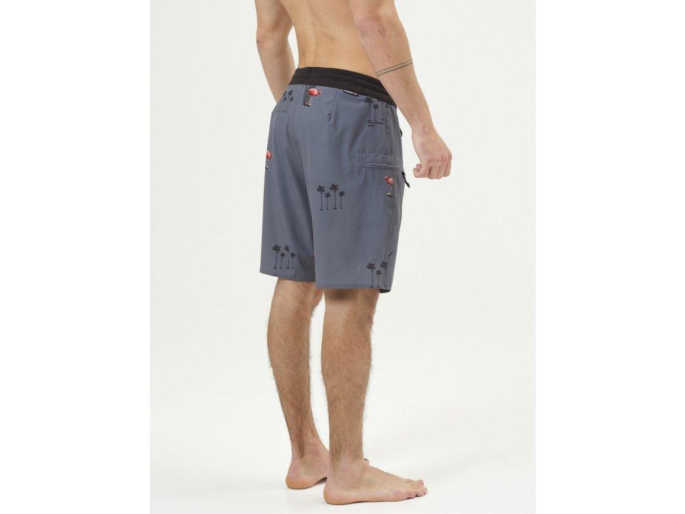 Basehit Men's Packable Board Shorts PR244 Ebony