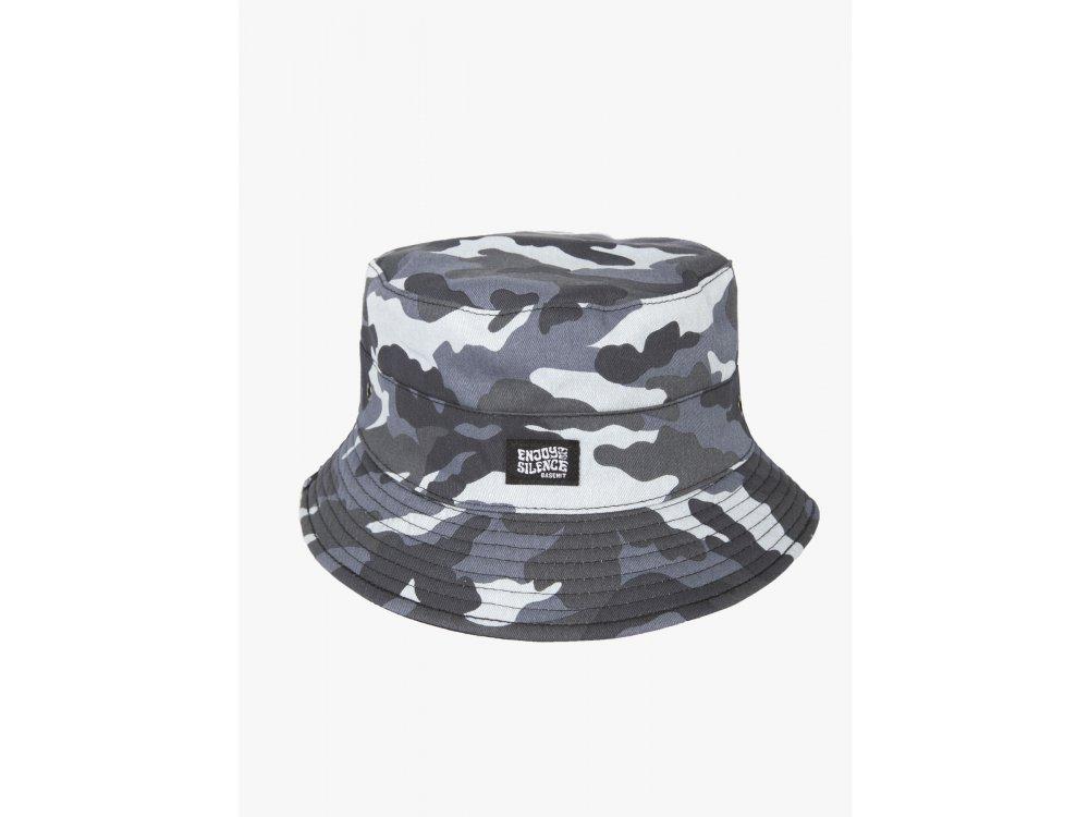 Basehit Unisex Bucket Hat Camo Grey-Black