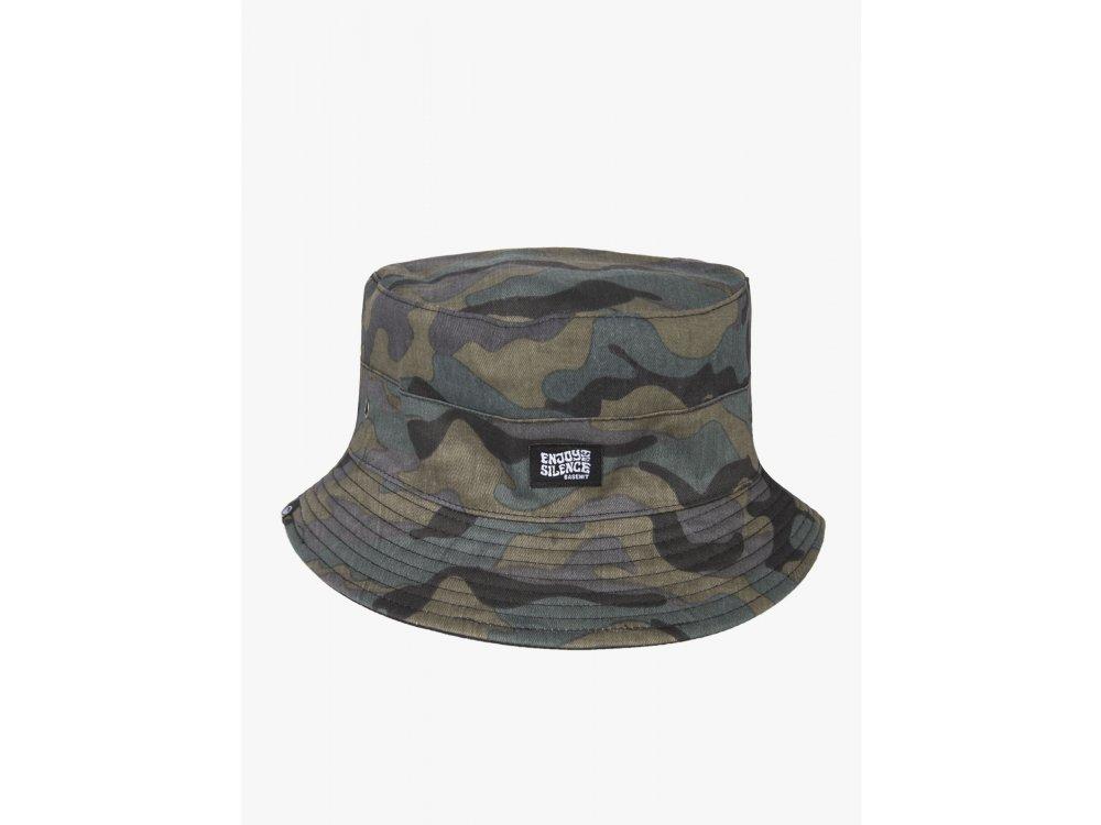 Basehit Unisex Bucket Hat CamoOlive-Black