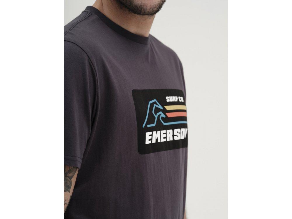 Emerson Men's S/S T-shirt Off Black