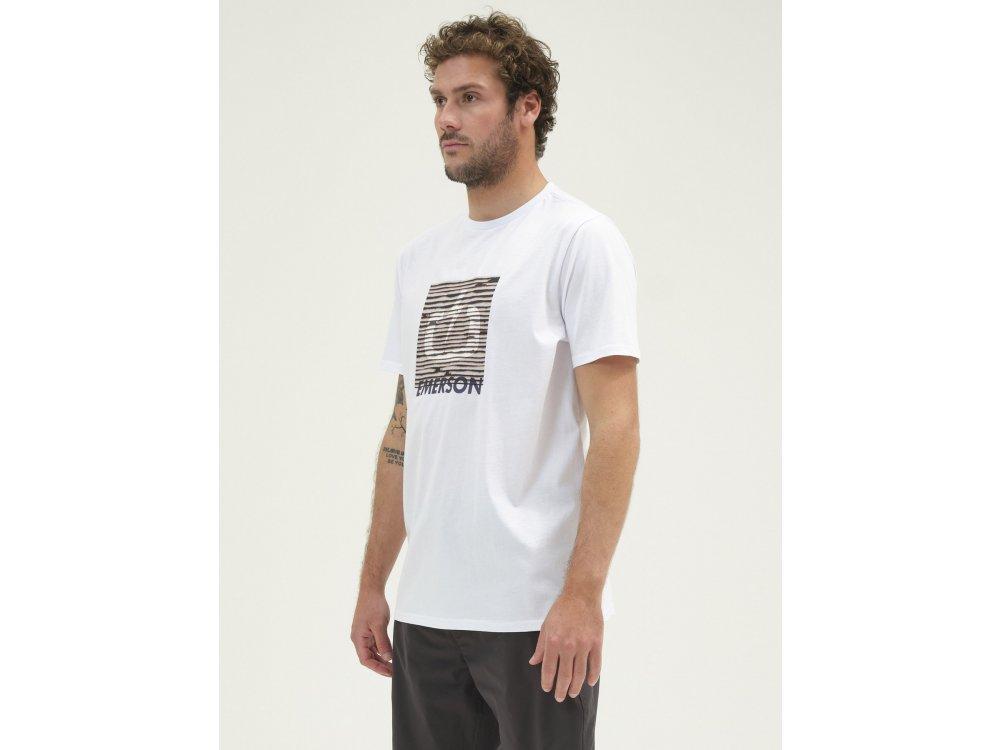 Emerson Men's S/S T-shirt White