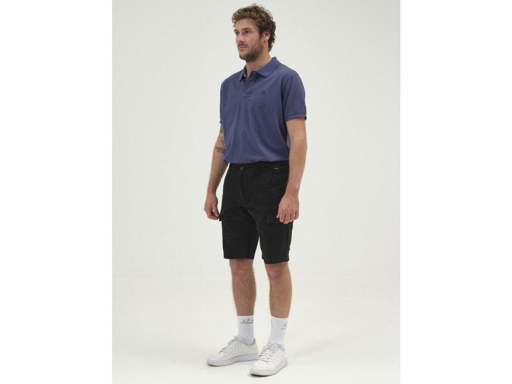 Emerson Men's Stretch Cargo Short Pants Black