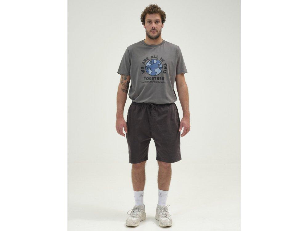 Emerson Men's Baggy Short Pants Ebony