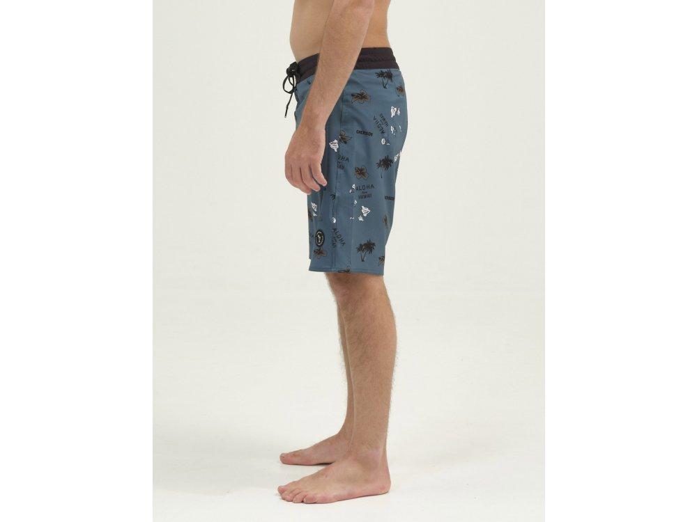 Emerson Men's Packable Board Shorts PR236 Green