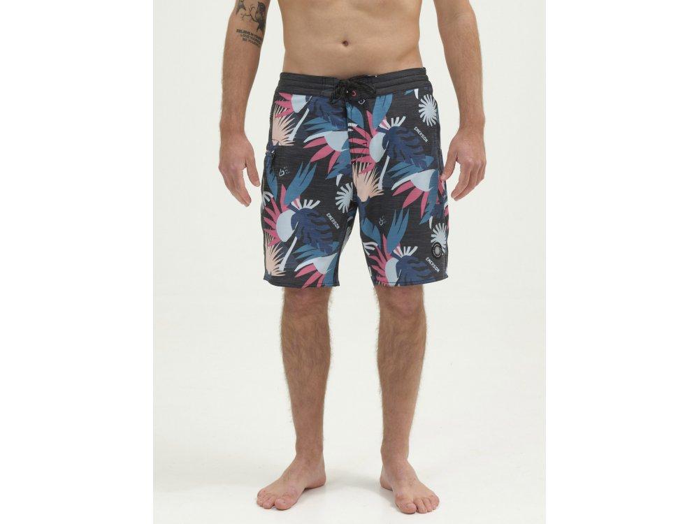 Emerson Men's Packable Board Shorts PR224 Black