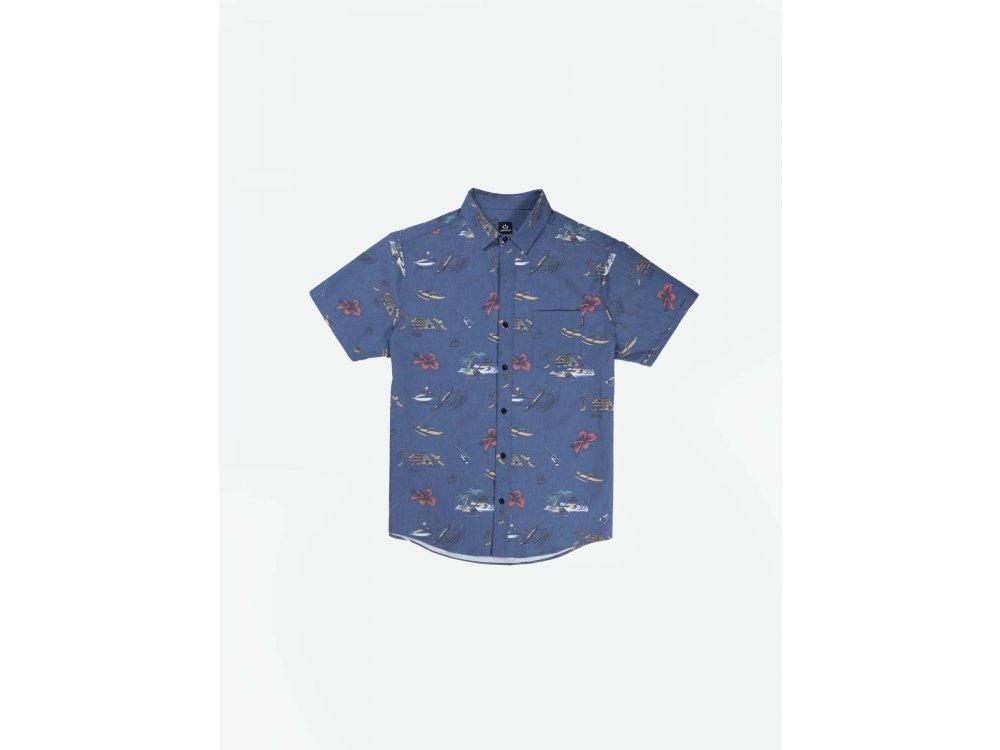 Emerson Men's s/s Shirt Royal Blue