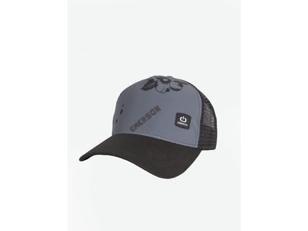 Emerson Unisex Cap PR227 Ebony/Black