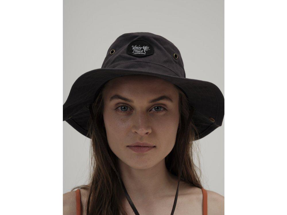 Emerson Unisex Safari Hat Off Black