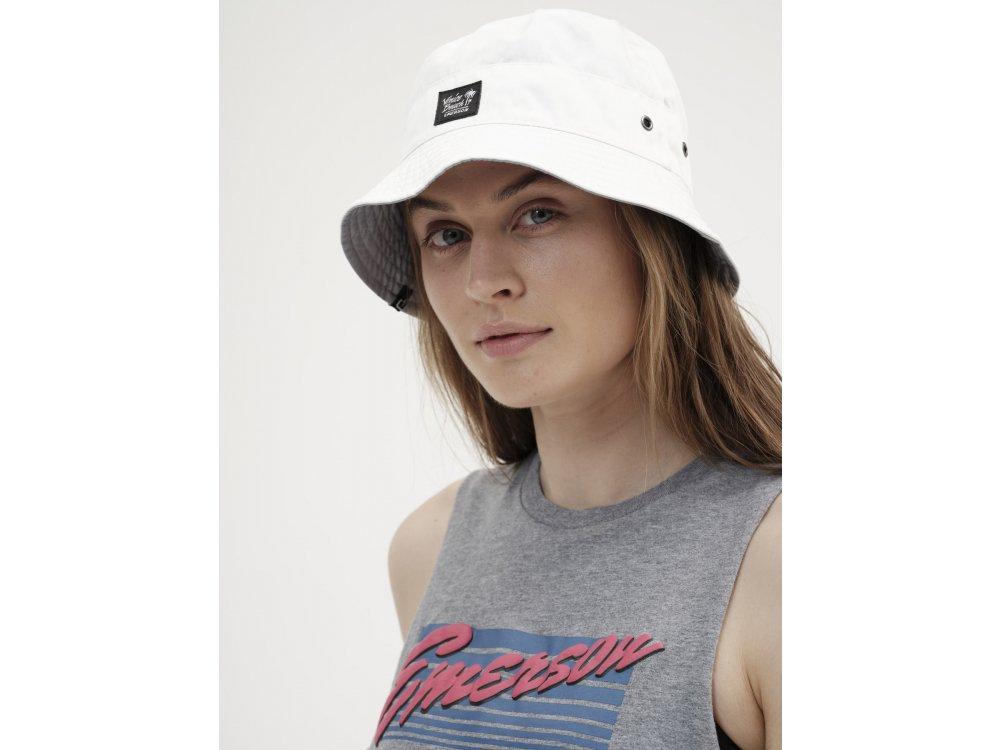Emerson Unisex Bucket Hat White-Stone Blue