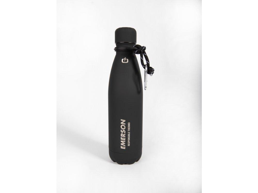 Emerson Double Wall Vacuum Bottle(500ml) Black