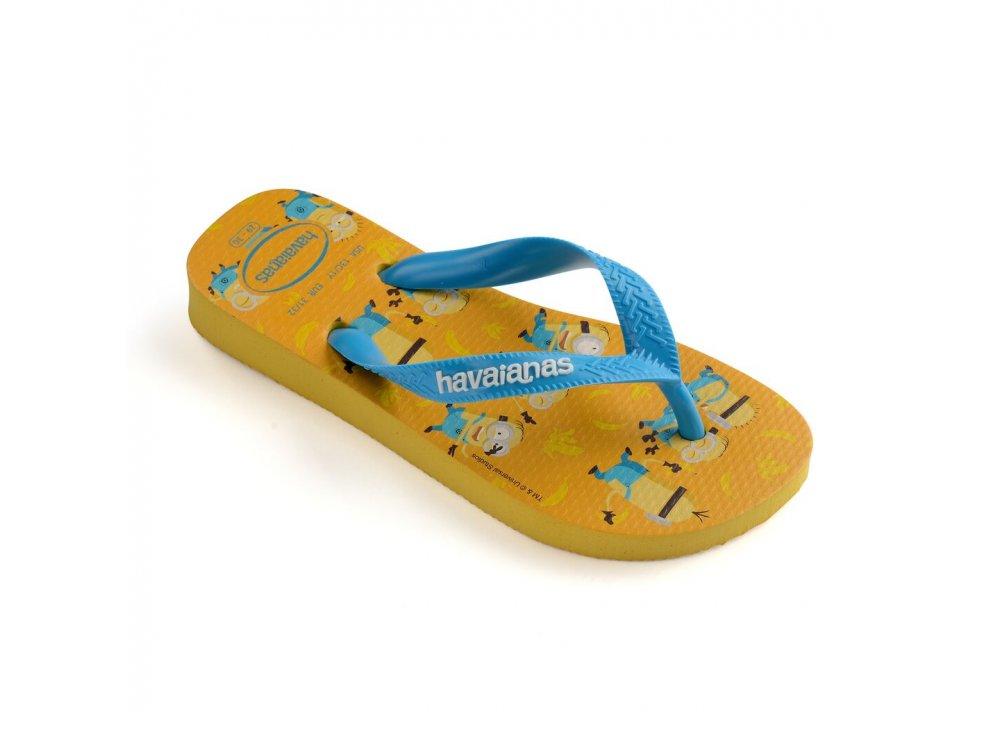 Παιδικές Σαγιονάρες Havaianas Minions Gold Yellow
