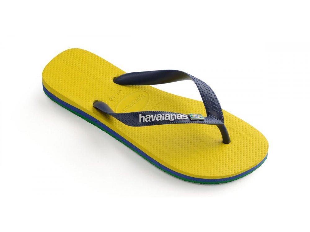 Σαγιονάρες Havaianas Brasil Layers Citrus Yellow