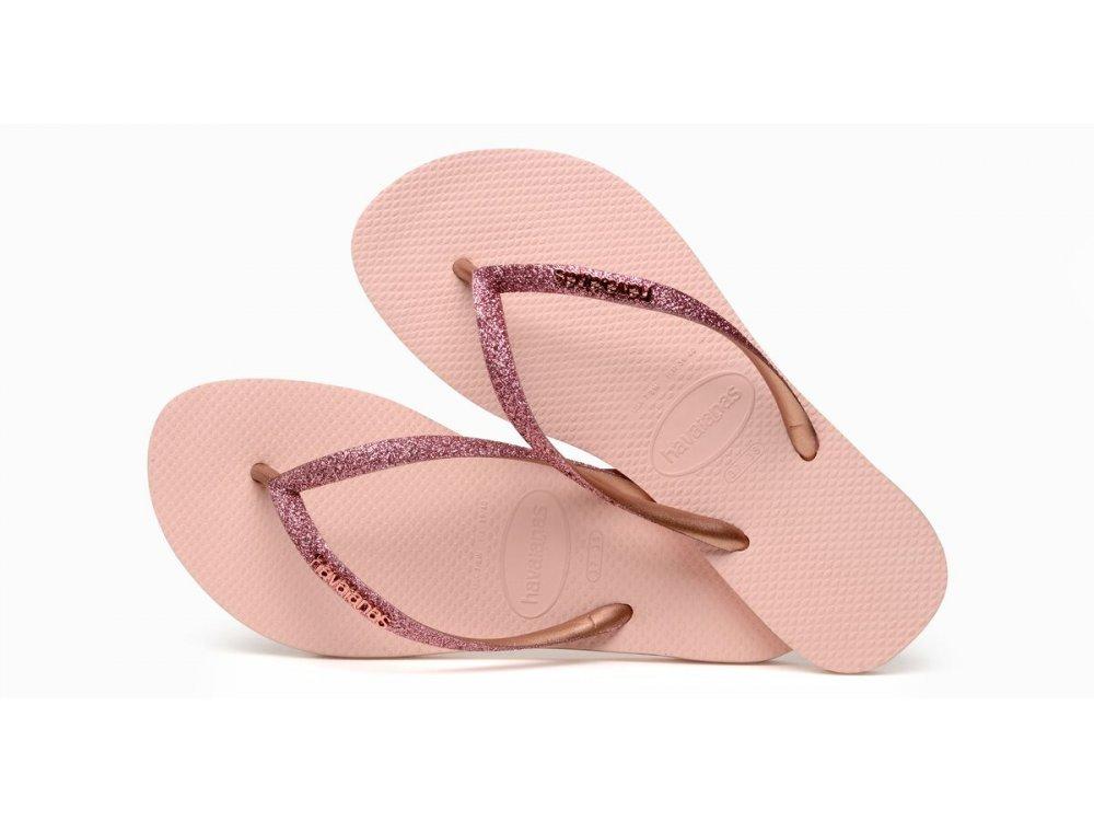Σαγιονάρες Havaianas Slim Glitter Ballet Rose