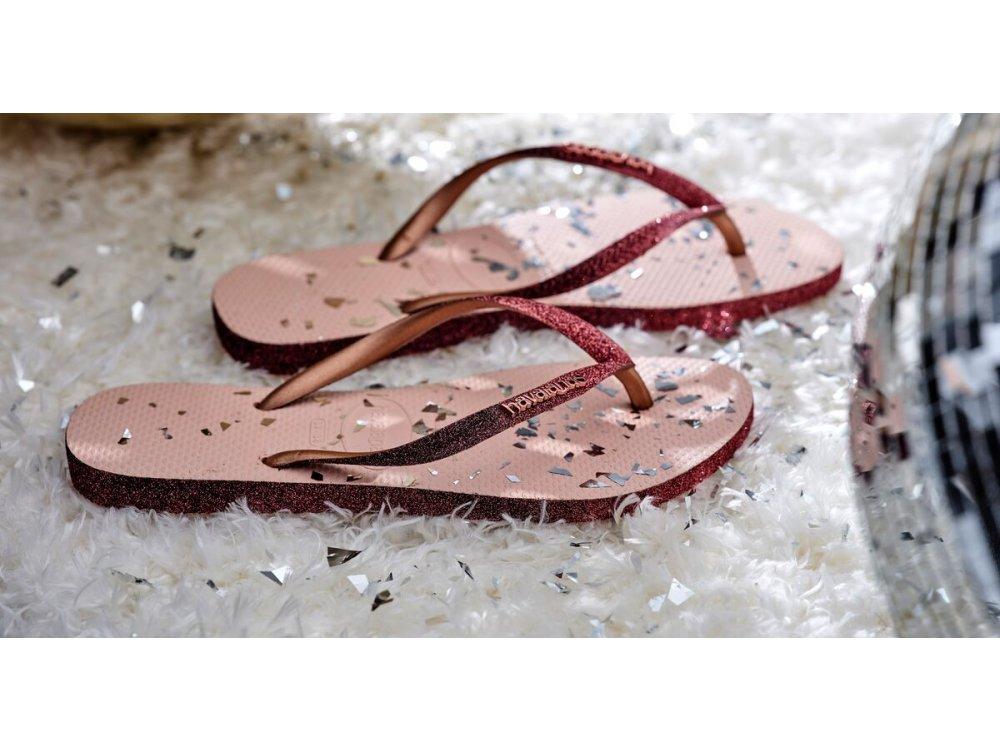 Σαγιονάρες Havaianas Slim Sparkle II Ballet Rose