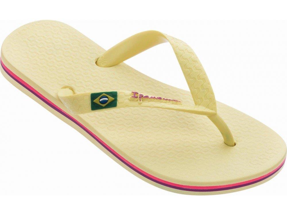 Γυναικείες Σαγιονάρες Ipanema Classica Brazil I Yellow
