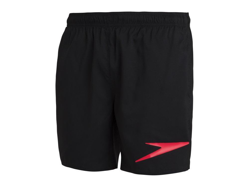 "Speedo Sport Logo 16"" Watershort Βερμούδα.Εισ. Black/Orange"