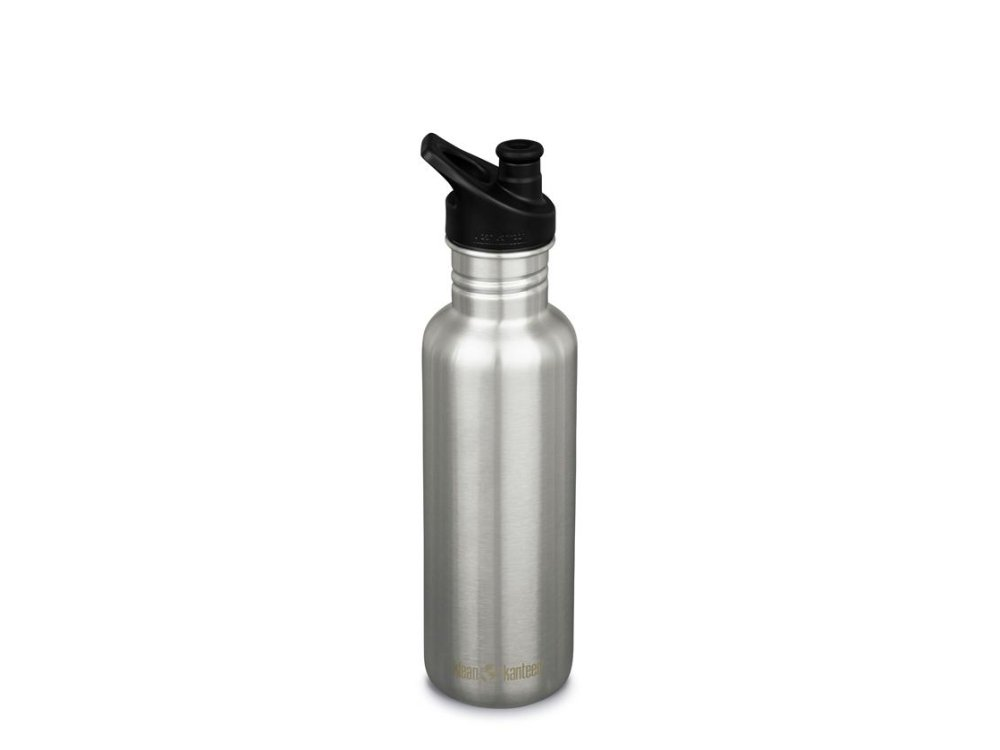 Classic 27oz (w/Sport Cap) Brushed Stainless K27CPPS-BS-T