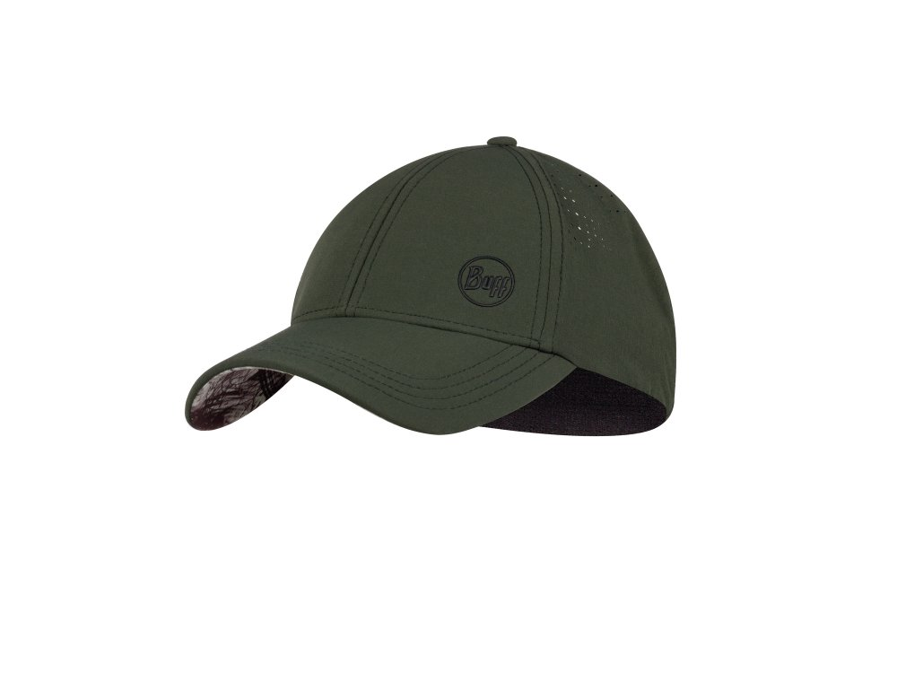BUFF Trek Cap HASHTAG MOSS GREEN L/XL