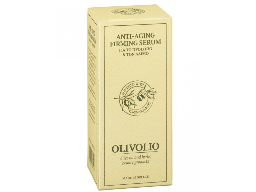 Olivolio Anti-Aging Firming Serum For Face And Neck 30ml