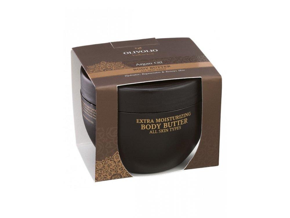 Olivolio Argan Oil Body Butter All Skin Types 250ml