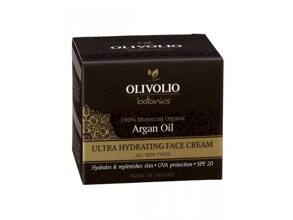 Olivolio Argan Oil Ultra Hydrating Face Cream 50ml