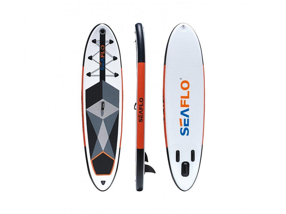 "Seaflo Sup Board ""All Round""  (305 x 75 x 15)cm (Κουπί,Τρόμπα,Σάκος)"