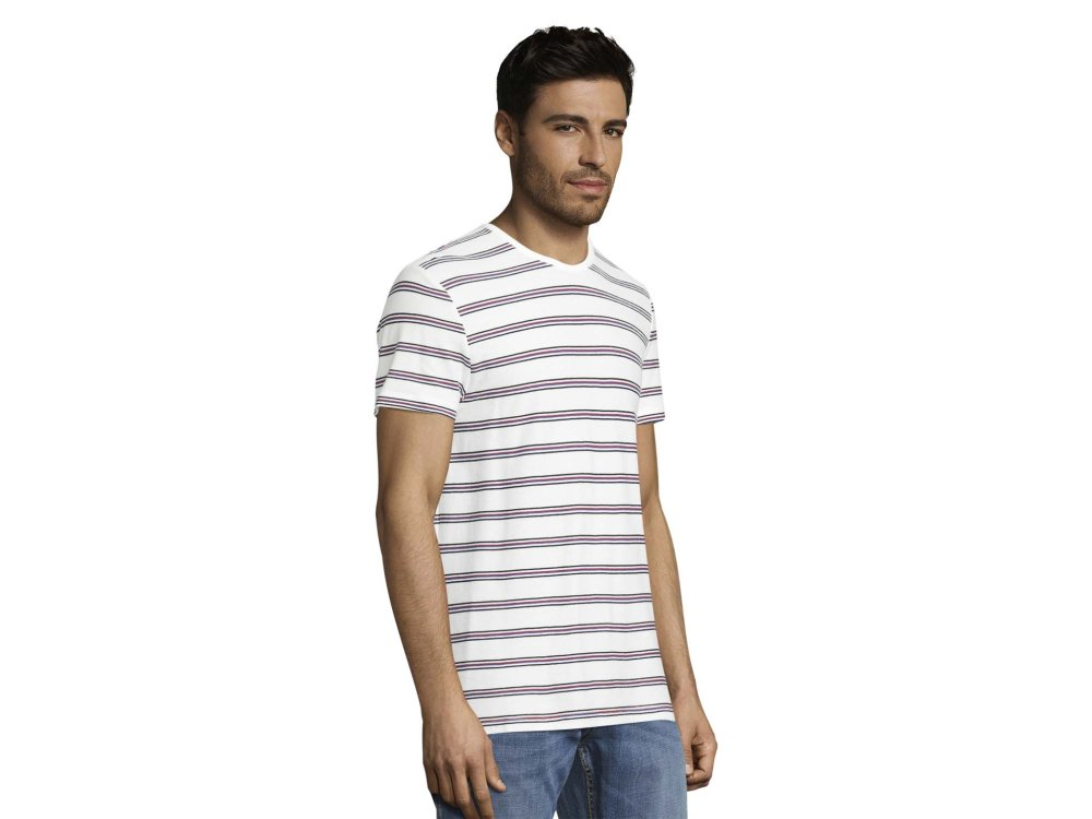 Tom Tailor T-Shirt Stripped Pique T Ανδρικό 10332