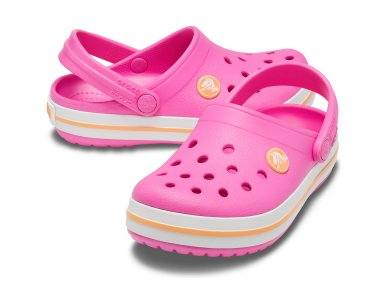 Σανδάλια Crocs Crocband Clog K Electric Pink / Canatloupe