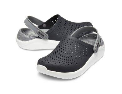 Σανδάλια Crocs Lite Ride Clog Black/Smoke