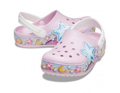 Σανδάλια Crocs FLStarBandClog K Balerina Pink