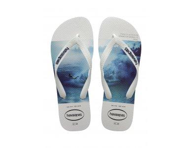 Σαγιονάρες Havaianas Hype White/White/Blue