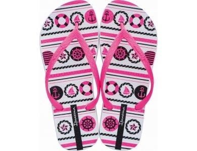 Γυναικείες Σαγιονάρες Ipanema Clas.Happy Ix  Fem White/Pink/Black